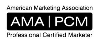 American Marketing Association professional certified marketer